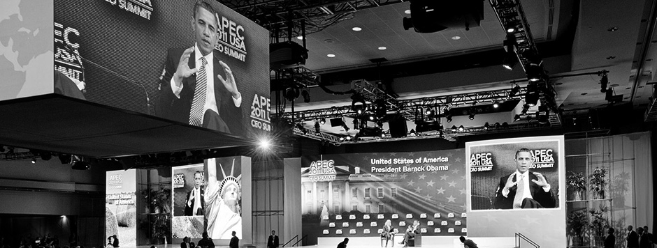 President Obama in Summit conversation, APEC CEO Summit 2011 Honolulu