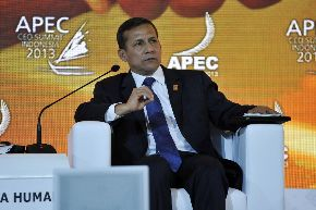 President Humala attends 21st APEC Summit in Indonesia