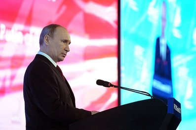 Vladimir Putin took part in the APEC CEO summit
